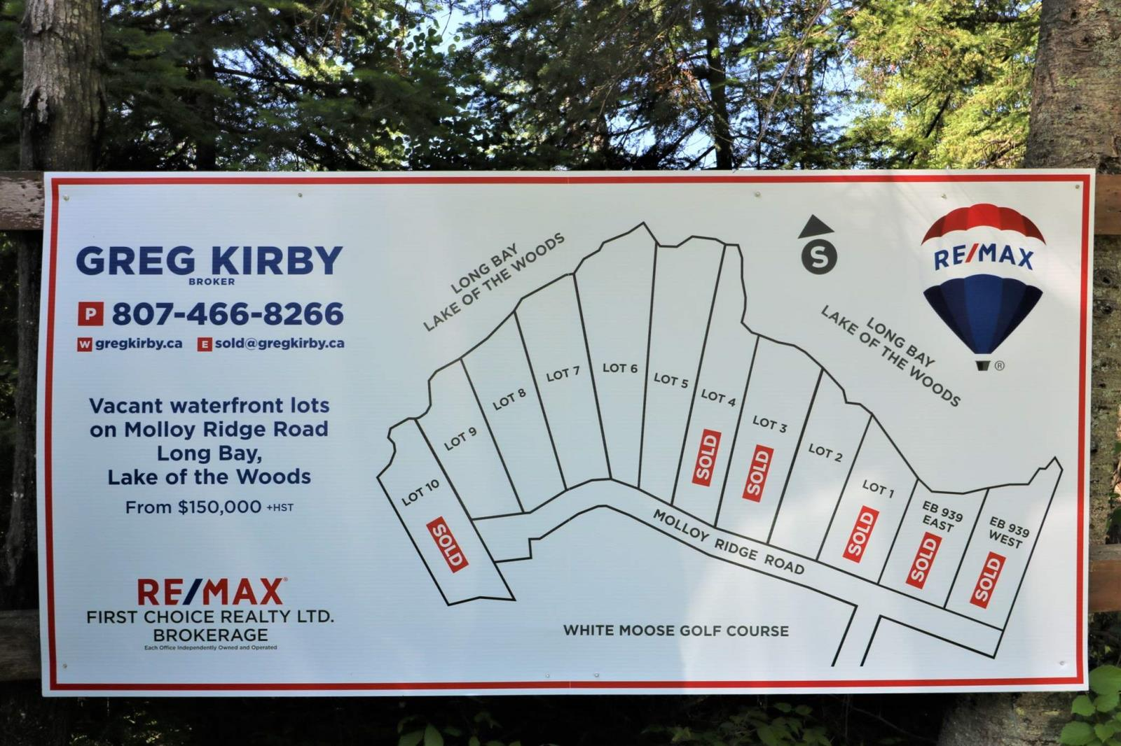 Lot 7 Molloy Ridge Road, Sioux Narrows, Ontario  P0X 1N0 - Photo 4 - TB180577